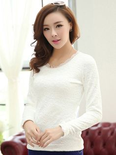 cc5464fa1c4 Korean Style Keep Warm Bottoming Blouse-- Click on the picture to order  it  Shop price US 8.85--- shoes  wholesale  fashion  lovely  cheap  Korean   dress ...