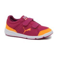 To Puma Stepfleex είναι ο πραγματικός στάρ της παιδικής κατηγορίας.Με μαλακή και ευλιγιστη εξωτερική σόλα αλλα και ανετο πλέγμα στο ανω μέρος είναι τέλεια επιλογή για παιδιά που βρίσκονται πάντα σε κίνηση Shoes 2014, Baby Steps, Children, Kids, Sneakers, Fashion, Young Children, Young Children, Tennis