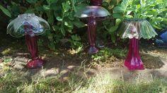 Glass art mushrooms-Miranda