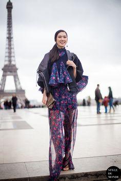 Tao Okamoto Street Style Street Fashion by STYLEDUMONDE Street Style Fashion Blog