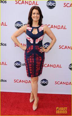 Bellamy Young at the #ScandalATAS 5/16/13   Scandal