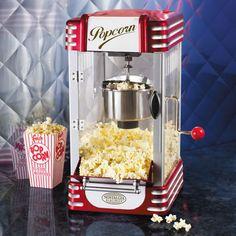 Retro Kettle Popcorn Maker - Buy from Prezzybox.com