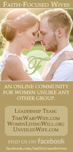 Faith-Focused Wives - A closer kind of community.