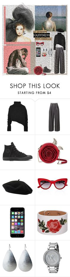 """You're My Heart, You're My Soul"" by lablanchenoire ❤ liked on Polyvore featuring Gypsy, Oris, Ann Demeulemeester, Goorin, Dolce&Gabbana, Off-White, Michael Kors and modern"