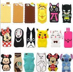 Cheap iphone 8 cases cute silicone cartoon phone cases for iphone 8 plus iphone x Iphone Cases Cute, Cute Cases, 5s Cases, Iphone 8 Plus, Iphone Se, Cute Cartoon Animals, Cute Animals, Animal Phone Cases, Cheap Iphones