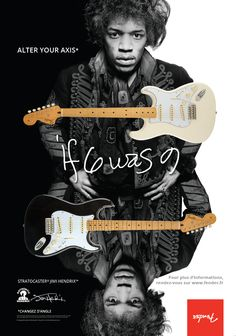 Sortie de la nouvelle Fender Stratocaster Jimi Hendrix