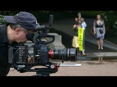 Canon EOS C 100 - Setting Up for Shooting - Part 2 - YouTube