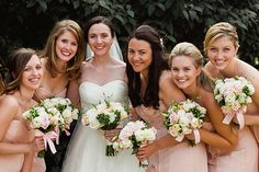 Brides: A Traditional Pittsburgh Wedding with Blush Pink Accents