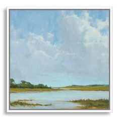Check out this item at One Kings Lane! Kim Coulter, Summer Clouds II