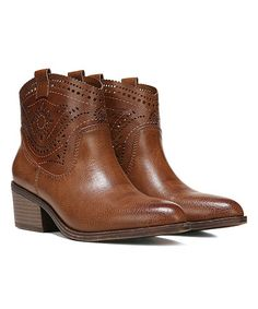 39a3d3df401 Cognac Winchester Bootie  zulilyfinds Fergie Shoes