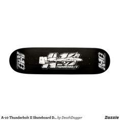 A-10 Thunderbolt II Skateboard Deck Skateboard - Supreme Hard-Rock Maple Deck Custom Boards By Talented Fashion & Graphic Designers - #skating #skater #skateboarding #shopping #bargain #sale #stylish #cool #graphicdesign #trendy #design #designer #graphicdesigner #style