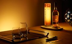 Media - 'Modern Gentleman' by Glenmorangie To create the perfect whisky drinking environment for the modern gentleman, Wallpaper* commissioned four designers – including Kilian Schindler from Kkaarrlls, Adrien De Melo, Jarrod Lim and Hanne Enemark – to create one-off accessories for Glenmorangie. Pictured are a carafe and tumbler by Hanne Enema and bottle glorifier by Adrien De Melo  #moderngentleman