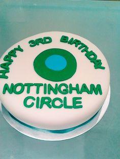 Nottingham Circle 3rd Birthday Cake #3