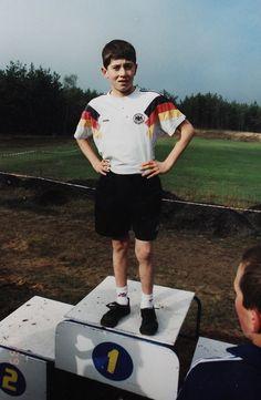 Young Robert Lewandowski