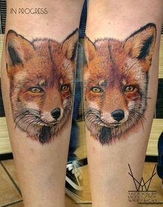 Sélection de 18 magnifiques tatouages de renard – Inkage