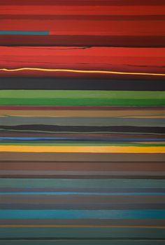 "Jackson (2008) by Micah Crandall-Bear, acrylic on canvas, 72""x48""."