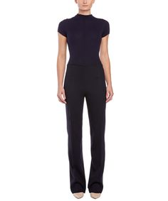 ESCADA ESCADA WOOL-BLEND JUMPSUIT'. #escada #cloth #dresses