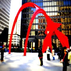 JCK Federal Building, Chicago, Illinois — by Annie C. art