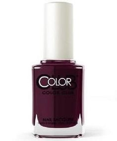 Color Club Nail Polish, Darker Than My Heart 1307 Color Club Nail Polish, Opi Nail Polish, Nail Treatment, China Glaze, Stylish Nails, Feet Care, Manicure And Pedicure, Essie, Nail Colors