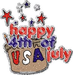 July 4th Glitter Indepence Day Glitter picture