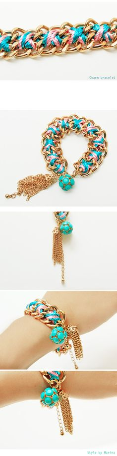 Charm bracelet - accessories Style by Marina