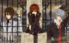 Kaname, Zero, and Yuki