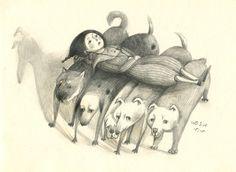 特製的毛茸茸方便床墊,他們個個是機器狗,是幫助殘障的小孩舒服移動的好夥伴!