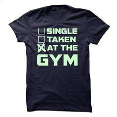 Single Taken At The Gym - #printed t shirts #pink hoodie. ORDER NOW => https://www.sunfrog.com/Fitness/Single-Taken-At-The-Gym-48816972-Guys.html?60505
