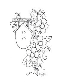 Coloring page turn embroidery. Embroidery Stitches, Hand Embroidery, Embroidery Designs, Broderie Primitive, Applique Patterns, Tole Painting, Coloring Book Pages, Doodle Art, Art Drawings