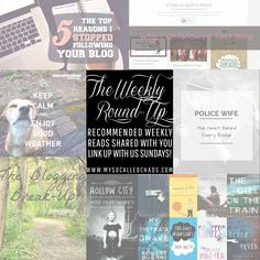 The Weekly Round-Up: