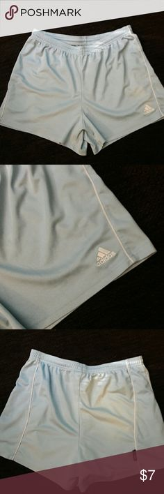ADIDAS JOGGERS Like new. Light blue. Climate Control. Polyester. Adidas Shorts
