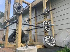 Stix and Stone | Concrete Weight Plate Molds Homemade Gym Equipment, Diy Gym Equipment, No Equipment Workout, Diy Home Gym, Gym Room At Home, Diy Power Rack, Stix And Stones, Dream Gym, Personal Gym