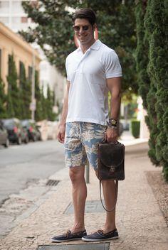 Nice summer style via Blog do Kadu