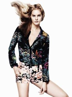 Flowers ❀ Over Flowers ❀    Zara Spring-Summer 2012