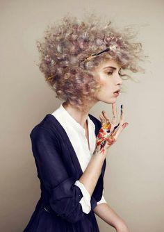 Make-up& Hairstyling Mariska de Jong Photography Giel Domen