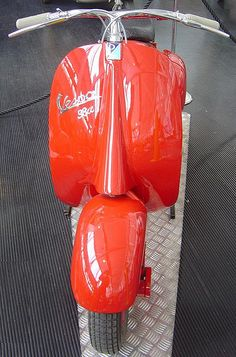 "Vespa 98cc type ""Corsa""- 1947 by vespa_obsession, via Flickr"