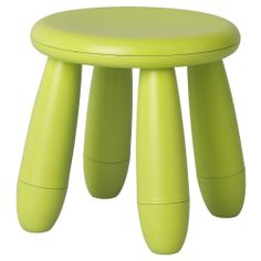 $8 MAMMUT Children's stool - green - IKEA    Love these stools in the classroom - and the kids do too! :)