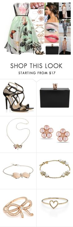 """Day 16 - «It Happened» Sydney Premiere"" by shama25237 ❤ liked on Polyvore featuring Antonio Marras, Jimmy Choo, Ashlyn'd, Too Faced Cosmetics, Valentino, Miadora, And Mary, Shaun Leane, Ivanka Trump and Aurélie Bidermann"