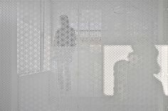 Perforated Metal   Distance of Fog / StudioGreenBlue