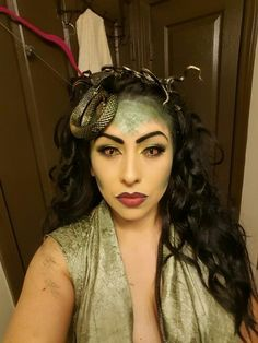 #medusa #makeup #moreMedusa makeup                                                                                                                                                                                 More
