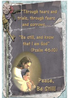 Didi @ Relief Society: Peace, Be Still - First Presidency March 2013 Message, handout
