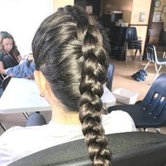 Lovely 40 Single or Individual Braids You Must Love – New Natural Hairstyles Active Hairstyles, New Natural Hairstyles, Natural Hair Wigs, Natural Hair Styles, Super Cute Hairstyles, Black Kids Hairstyles, Tiara Hairstyles, Braided Hairstyles, Individual Braids