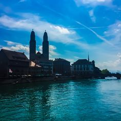 Limmat My Town, Zurich, Switzerland, New York Skyline, Travel, Voyage, Trips, Viajes, Destinations