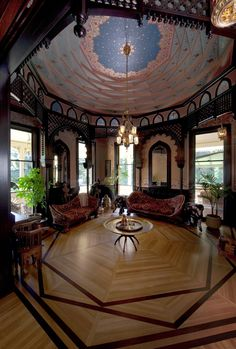Mableton Geometric Domed Ceiling ...