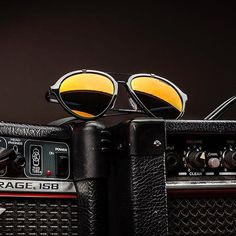 Unleash the rockstar in you with Carrera shades.
