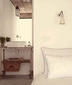A new, rural hotel called Pensao Agrícola is located in the fertile agricultural zone of the Sotavento (eastern) end of the Algarve just from the. Algarve, Cabana, Tavira Portugal, Rue Verte, Plastic Curtains, Bathroom Shop, Bathroom Designs, Shower Curtain Rings, Ideas