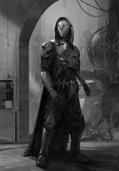 Sci fi concept art characters cyberpunk armors 41 super Ideas Source by mrsasys Fantasy Armor, Sci Fi Fantasy, Chasseur De Primes, Science Fiction, Concept Art Landscape, Batman Armor, Sci Fi Armor, Sith Armor, Daedric Armor