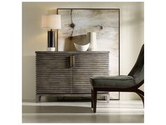 Hooker Furniture Melange Medium Wood 50''L x 19''W Rectangular Delano Buffet
