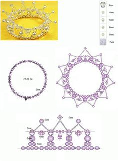 Beaded Crowns for Little Princesses ~tutorial~ Would be ADORABLE for my lil twin flowergirls