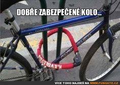 Dobře zabezpečené kolo…